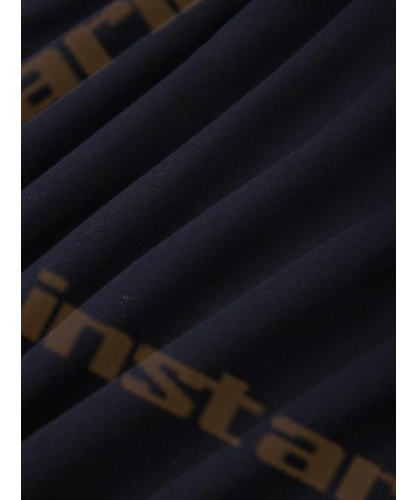 Ultramarine Knot Design Long Sleeve Hoodie